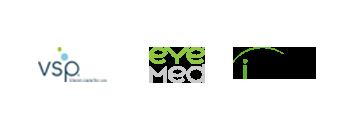VSP logo, EyeMed logo, Superior Vision logo, iLasik logo