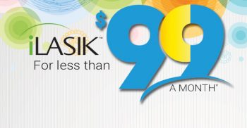 iLasik for less than $99 a month*