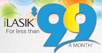 ilasik for less than 99 a month