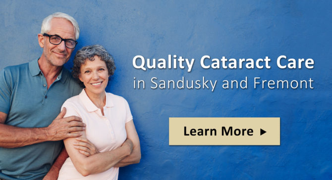 Quality Cataract Care in Sandusky and Freemont